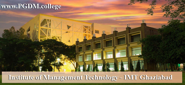 IMT Ghaziabad 2019 PGDM Admission