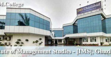 Institute of Management Studies IMS Ghaziabad