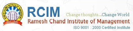 RCIM - Ramesh Chand Institute of Management
