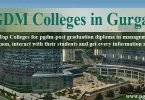 PGDM college Gurgaon