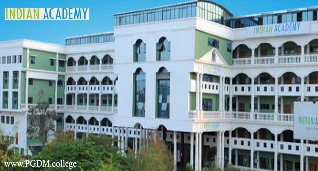 Indian Academy School of Management studies