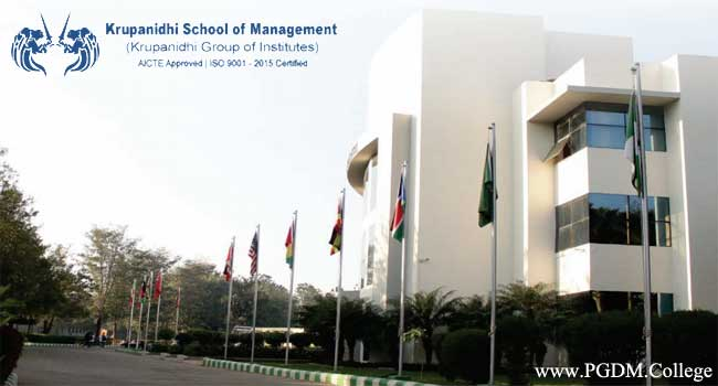 Krupanidhi school of management campus
