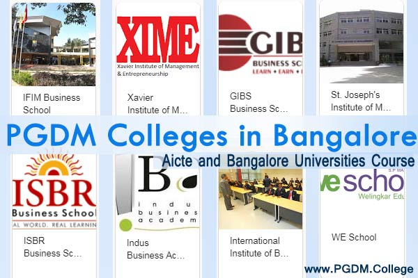 PGDM Course in Bangalore