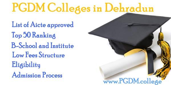 PGDM Colleges in Dehradun