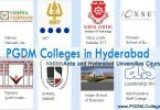 PGDM course in Hyderabad