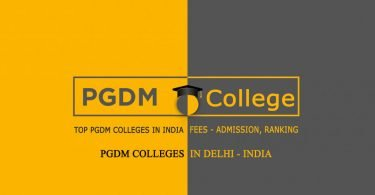 PGDM Colleges in Delhi