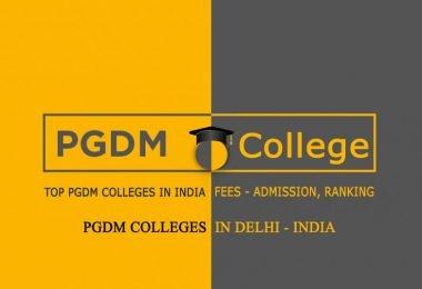 PGDM Colleges in Delhi