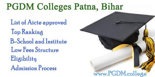 PGDM Colleges Bihar, Patna