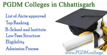 PGDM Colleges Chhattisgarh