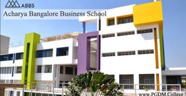 Acharya Bangalore Business School