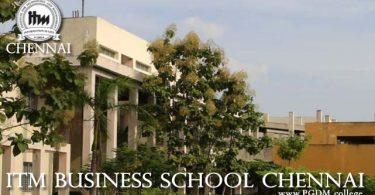 ITM Business School Chennai