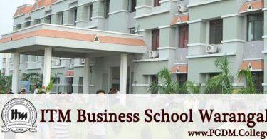 ITM Business School Warangal capus