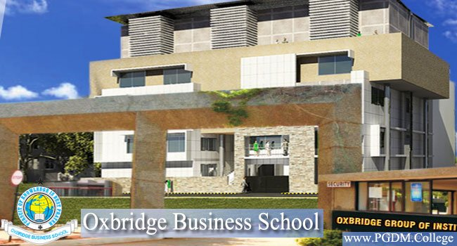 Oxbridge B-School Bangalore