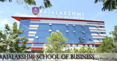 Rajalakshmi School of Business
