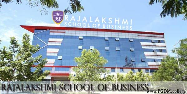 RSB Chennai Rajalakshmi School of Business