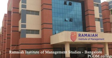 Ramaiah Institute of Management Studies Bangalore Campus
