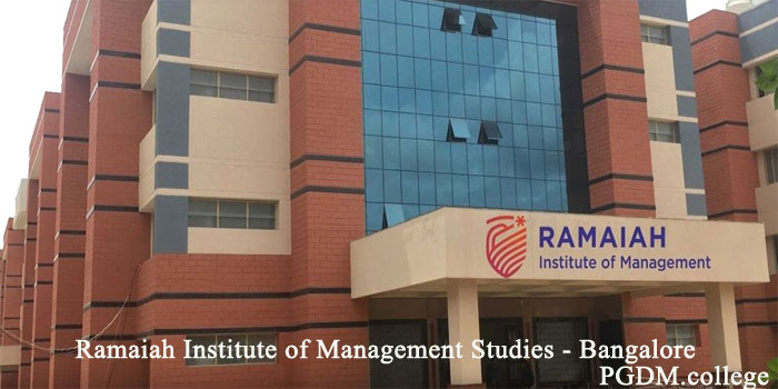 Ramaiah Institute of Management Studies Bangalore Campus