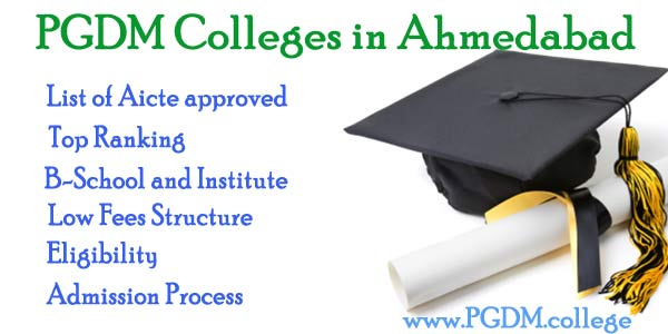 PGDM Colleges in Ahmedabad