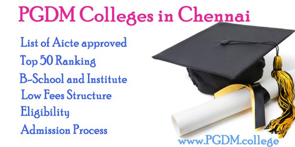 PGDM Colleges Chennai