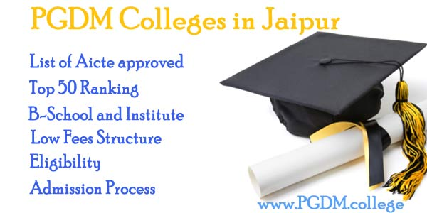 PGDM Colleges Jaipur