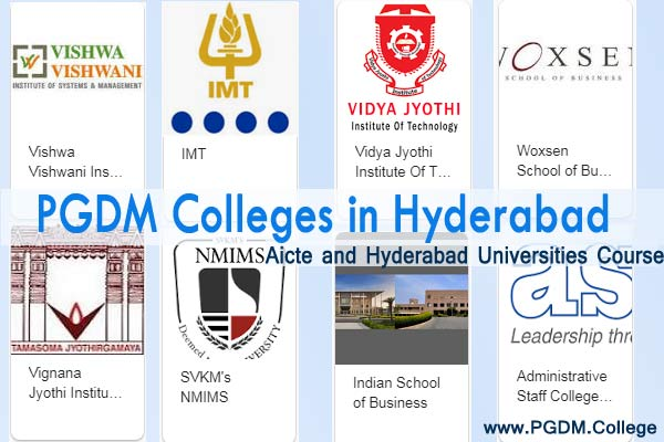 PGDM colleges Hyderabad