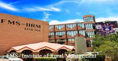 FMS-IRM Jaipur Campus