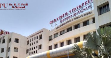 DY-Patil B-School campus