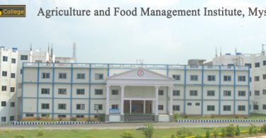 Agriculture and Food Management Institute campus